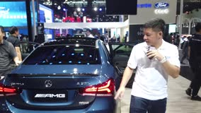 2019广州车展 奔驰展台 视频看展